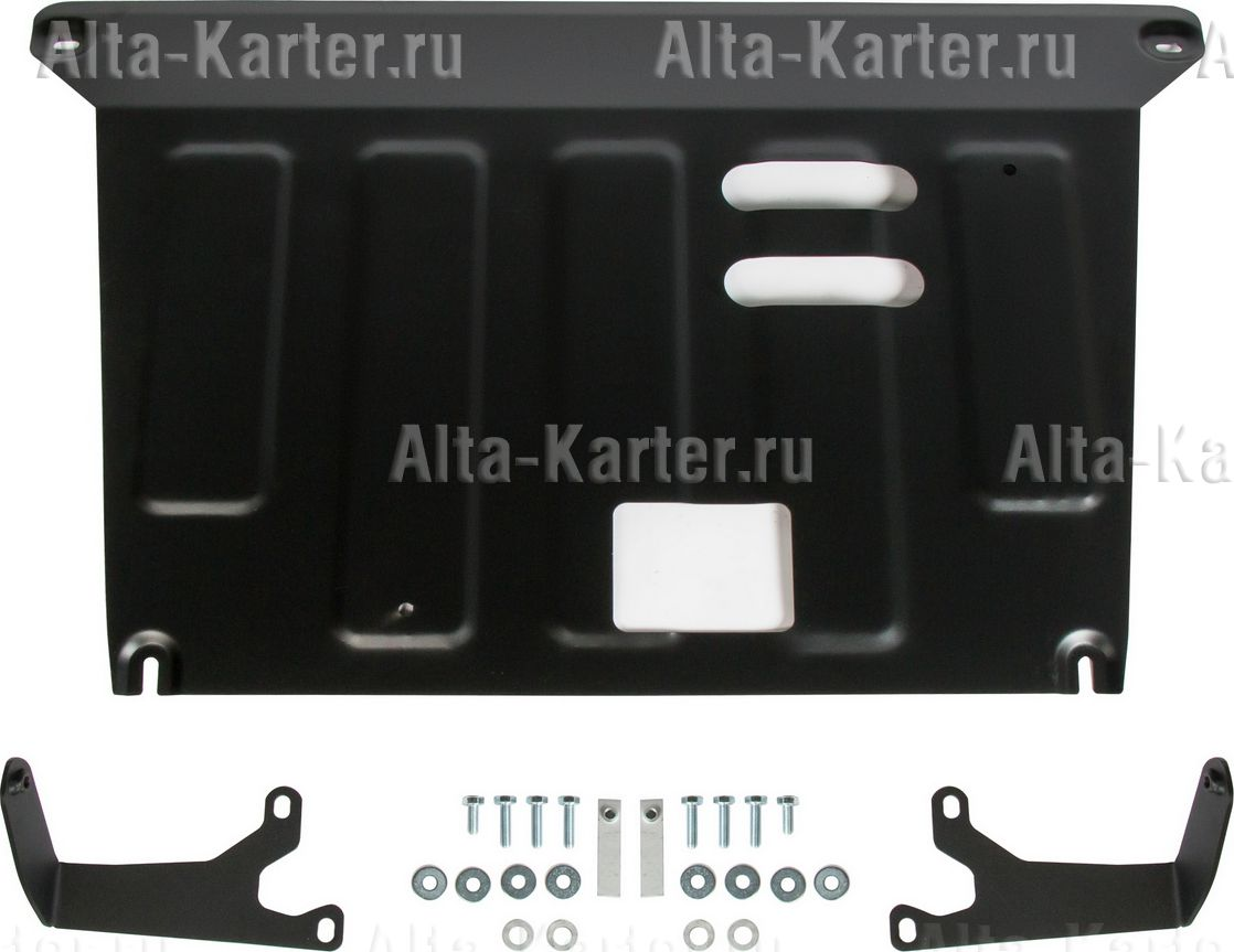 Защита AutoMax для картера Kia Seltos FWD/4WD 2019-2021. Артикул AM.2850.1