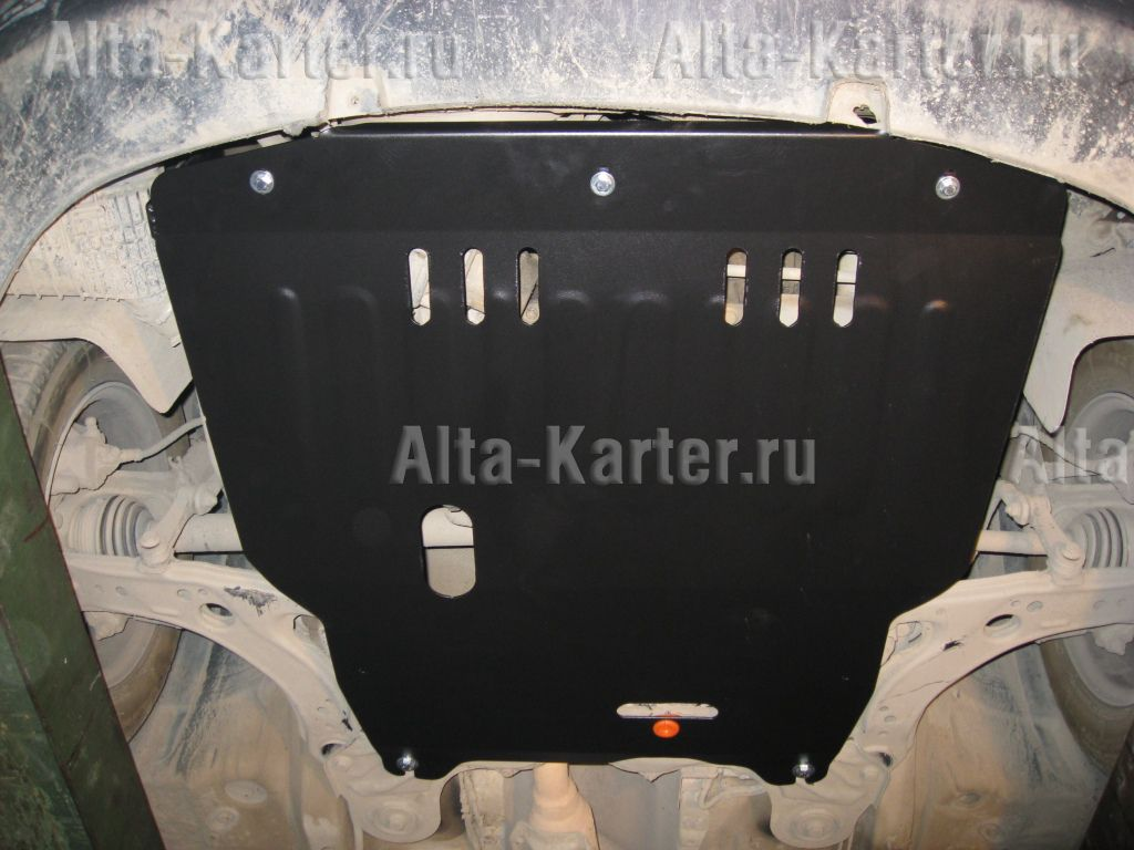 Защита Alfeco для картера и КПП Audi A3 8L 1996-2003. Артикул ALF.30.26