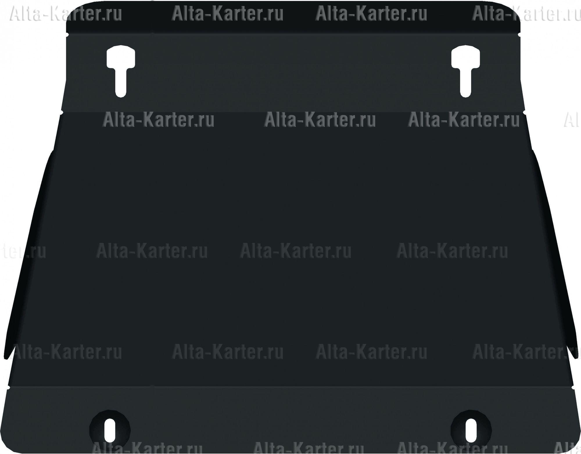 Защита Alfeco для картера Mitsubish Pajero Mini 1998-2012. Артикул ALF.14.40