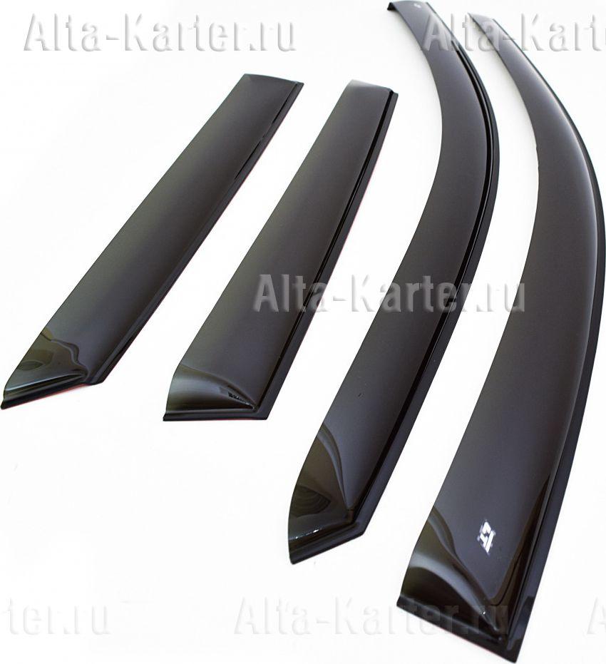 Дефлекторы Cobra Tuning (широкие) для окон ГАЗ Next 2015 по наст. вр.. Артикул G1110