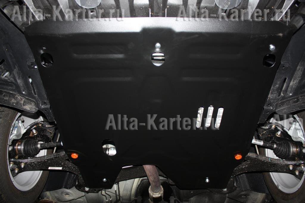 Защита Alfeco для картера и КПП Chery Arrizo 7 M16 2014-2021. Артикул ALF.02.15