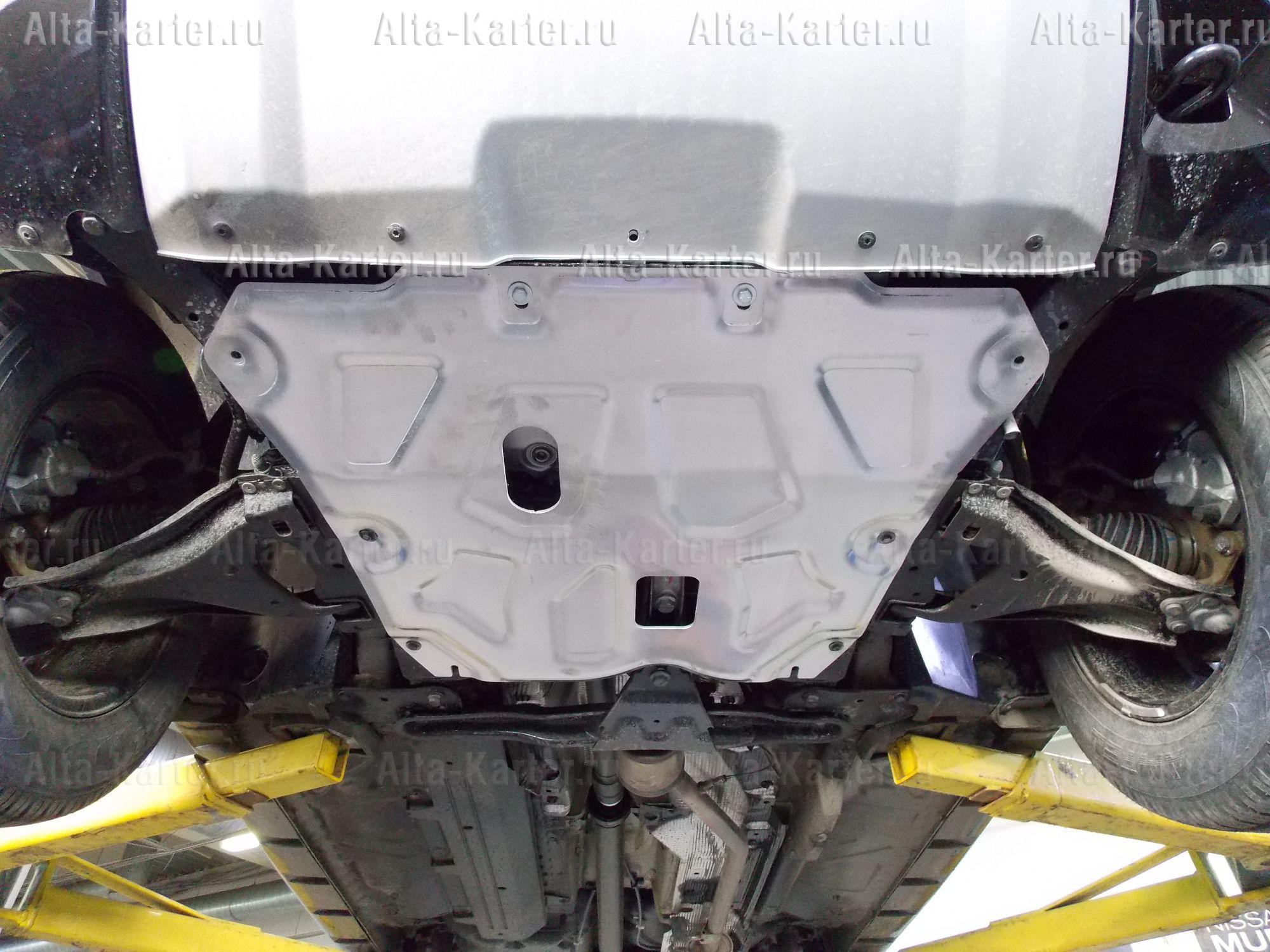 Защита Alfeco для картера и КПП Renault Kaptur 2016-2021. Артикул ALF.18.09 AL4