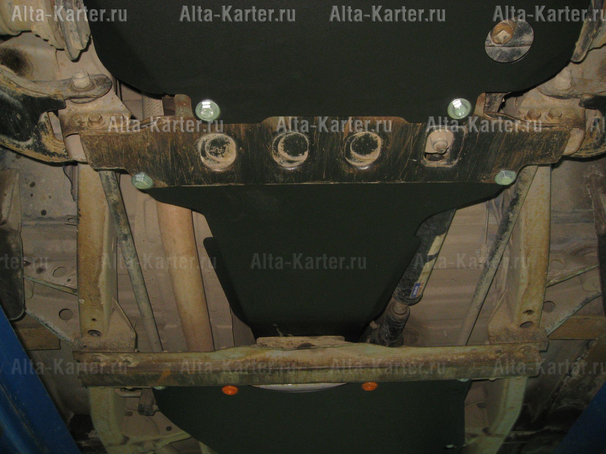Защита Alfeco для КПП Tager 2008-2011. Артикул ALF.32.02