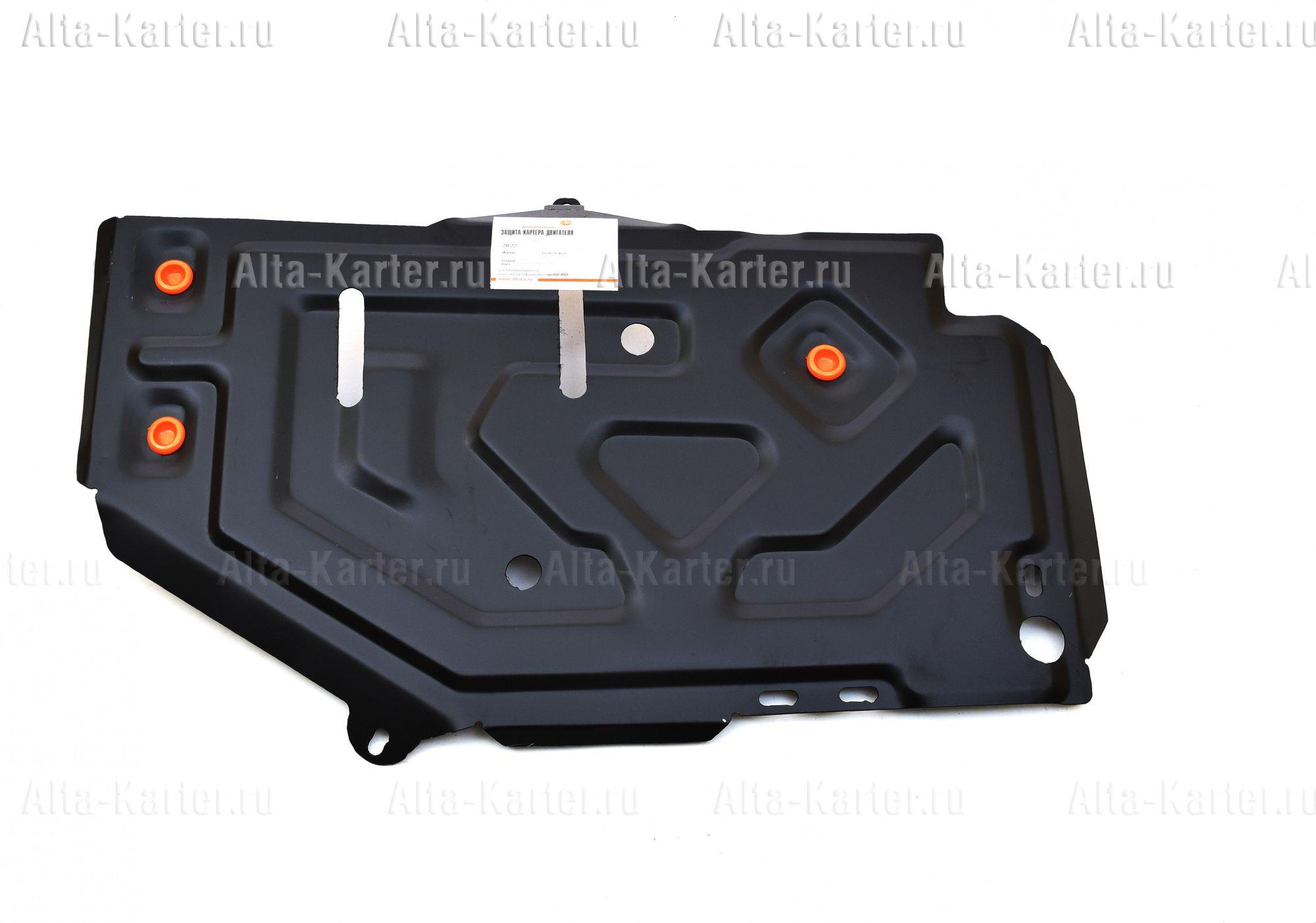 Защита Alfeco для топливного бака Nissan Terrano 2WD 2014-2021. Артикул ALF.28.22