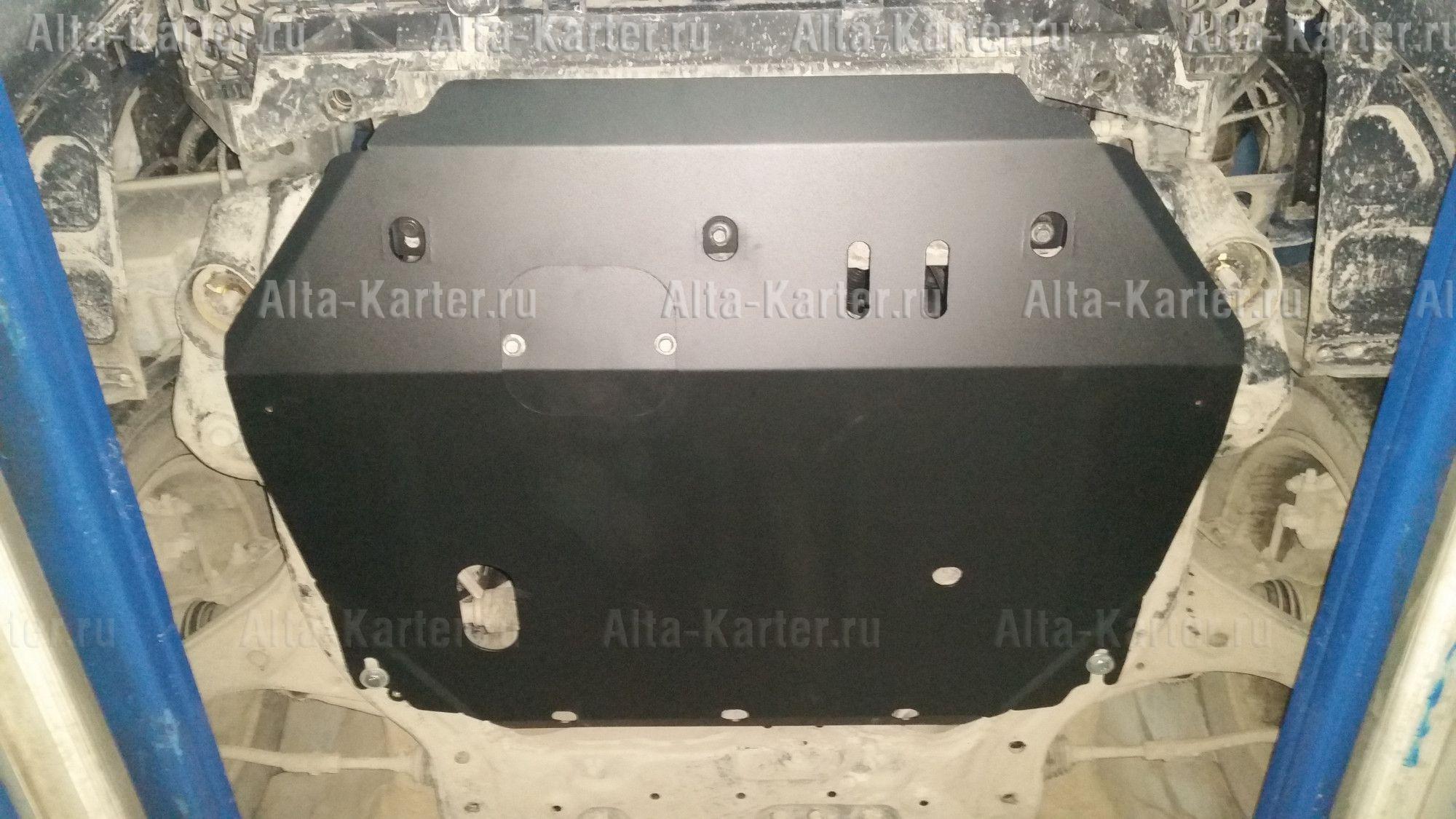 Защита Alfeco для картера и КПП Jac S3 2014-2021. Артикул ALF.56.01