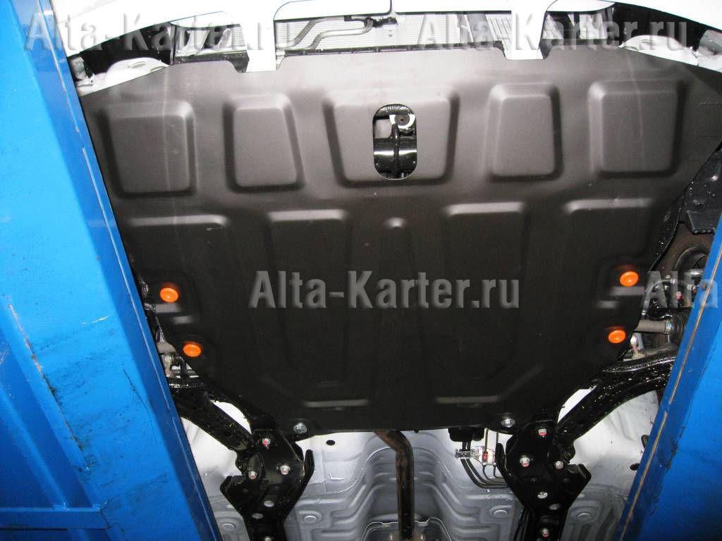 Защита Alfeco для картера и КПП Hyundai Accent II 1999-2012. Артикул ALF.10.01 st
