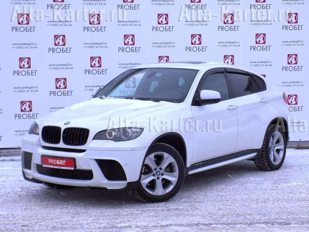 Дефлекторы Cobra Tuning для окон BMW X6 E71, E72 2008-2014. Артикул B20308
