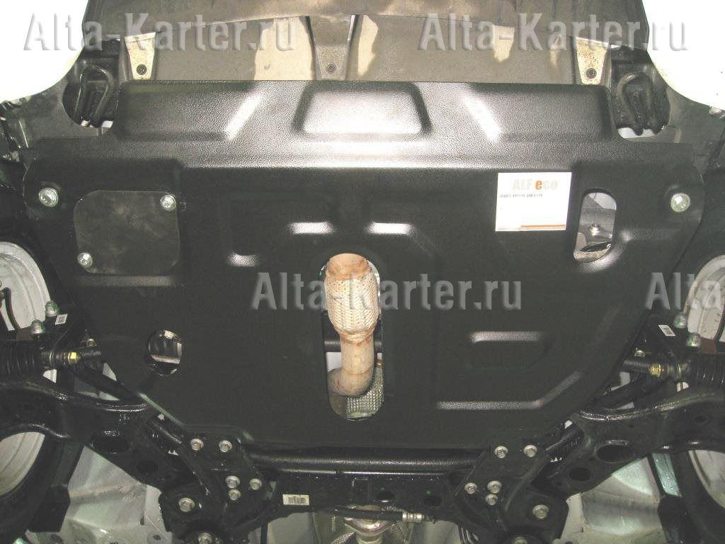 Защита Alfeco для картера и КПП Geely Emgrand X7 2013-2021. Артикул ALF.08.06