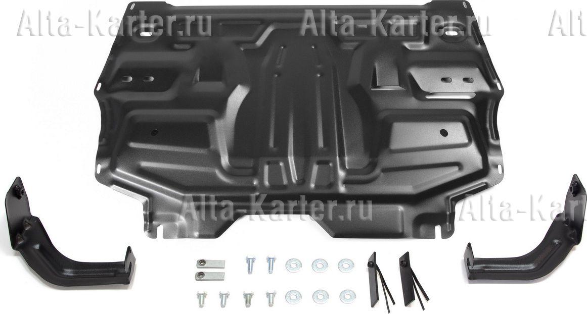 Защита AutoMax для картера и КПП Skoda Fabia II 2007-2014. Артикул AM.5877.1