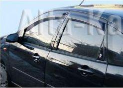 Дефлекторы Alvi-Style для окон оригинальные Nissan Tiida C11 седан 2004-2014. Артикул ALV175
