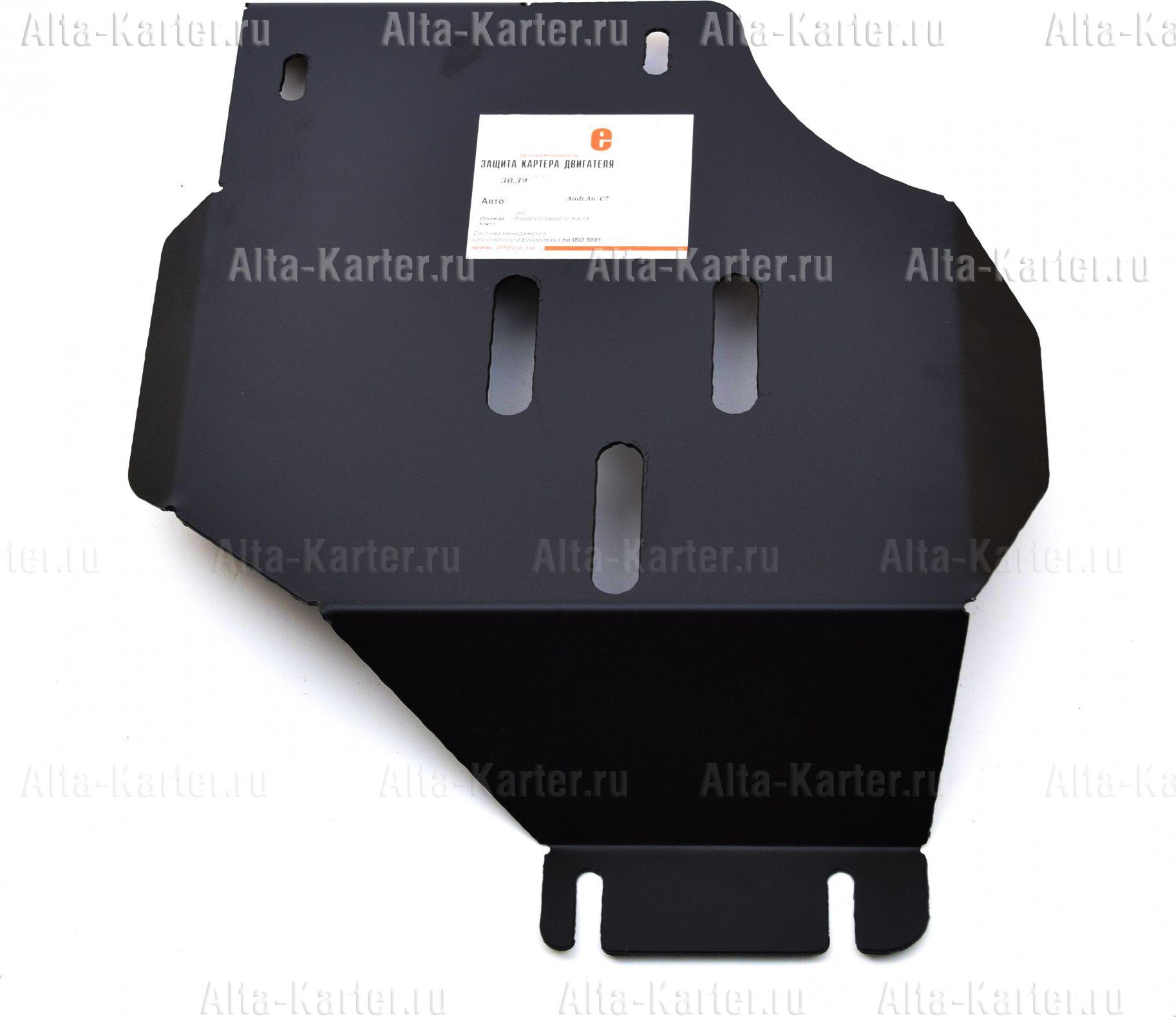 Защита Alfeco для редуктора заднего моста Audi A6 C7 2011-2018. Артикул ALF.30.39