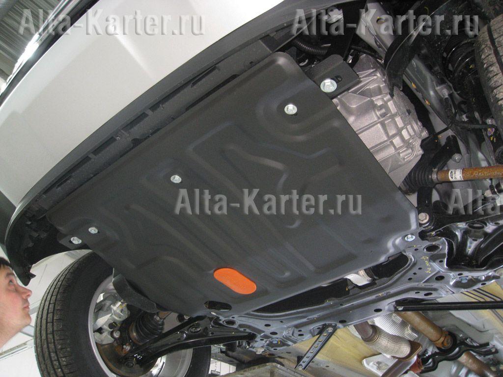 Защита Alfeco для картера и КПП Ford EcoSport 2014-2018. Артикул ALF.07.360st