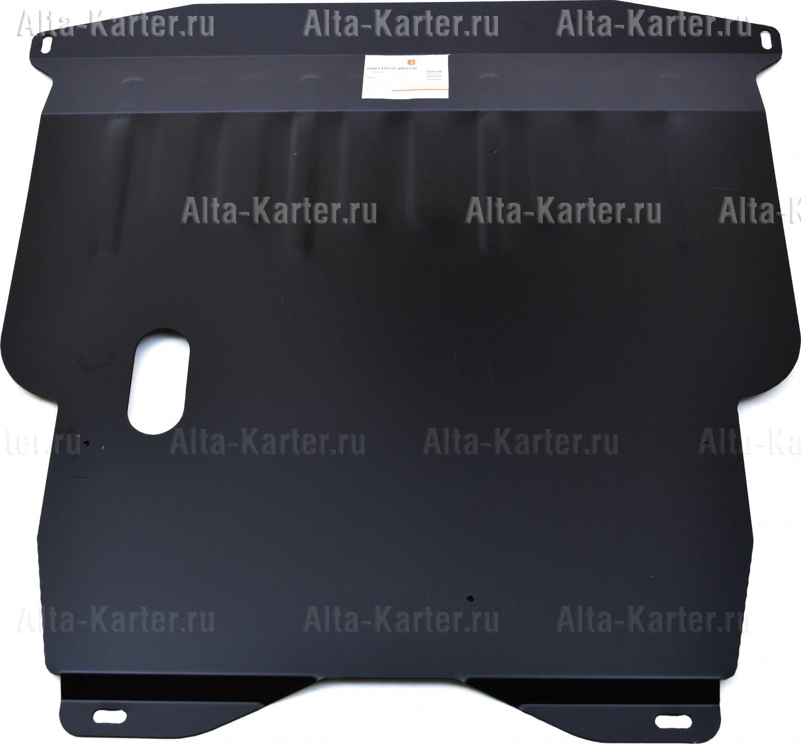 Защита Alfeco для картера и КПП Hyundai Getz 2002-2011. Артикул ALF.10.04