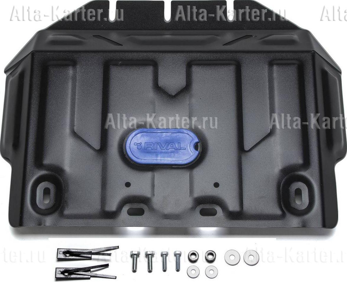 Защита Rival для картера Toyota Land Cruiser Prado 150 2009-2021. Артикул 111.5784.1