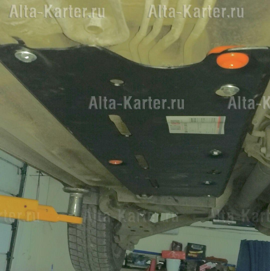 Защита Alfeco для топливопровода Nissan Qashqai I 2007-2013. Артикул ALF.15.42