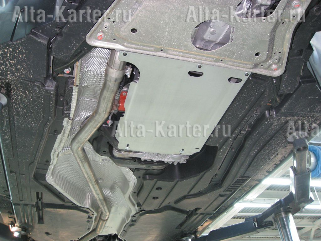 Защита Alfeco для АКПП BMW Х6 E71 xDrive 2008-2012. Артикул ALF.34.09