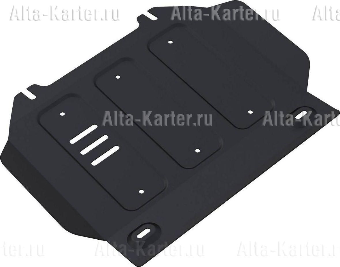 Защита Rival для картера Isuzu D-Max II 2012-2021. Артикул 111.9102.1