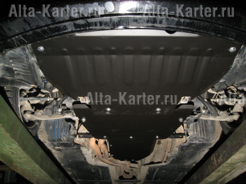 Защита Alfeco для картера и КПП BMW 5-серия E60 2003-2005. Артикул ALF.34.07