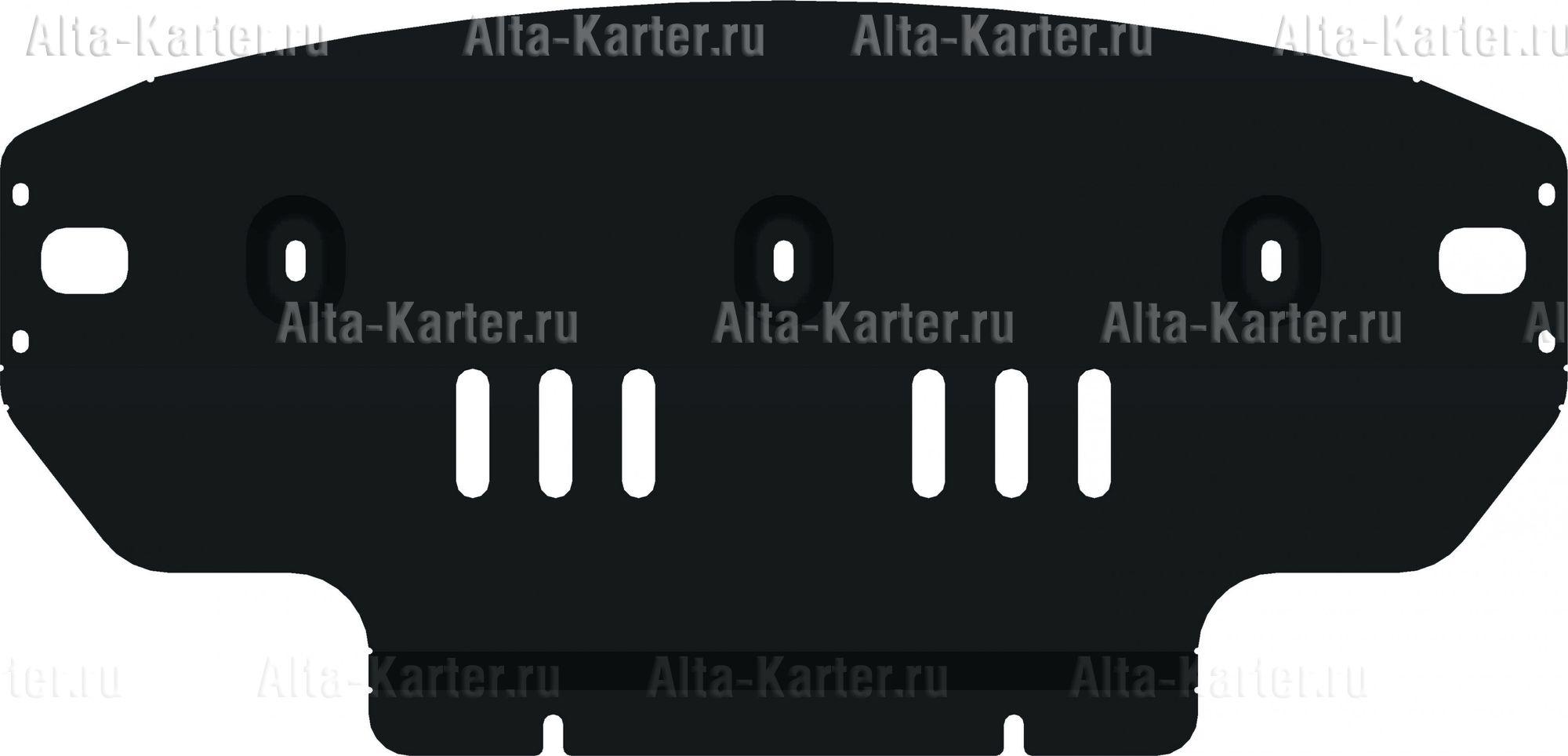 Защита Alfeco для картера Volkswagen Crafter I рестайлинг 2011-2016. Артикул ALF.26.36